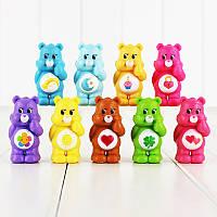 Игрушки с мультфильма Заботливые Мишки ( Care Bears ) , 9 шт