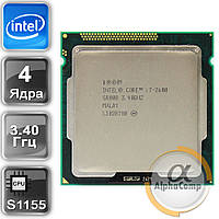 Процессор Intel Core i7 2600 (4×3.40GHz/8Mb/s1155) б/у