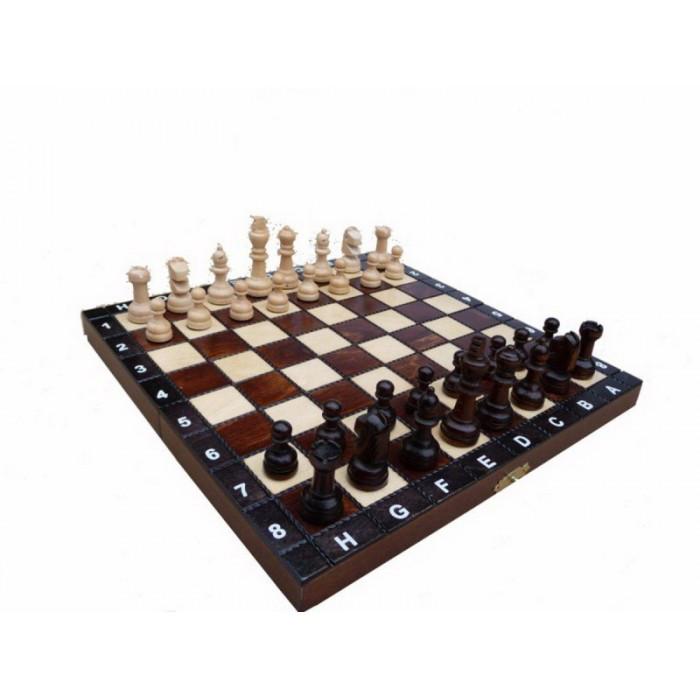 Шахматы деревянные ШКОЛЬНЫЕ 270*270 мм Гранд Презент СН 154 (19205)