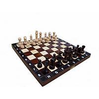 Шахматы деревянные ШКОЛЬНЫЕ 270*270 мм Гранд Презент СН 154 (19205), фото 1