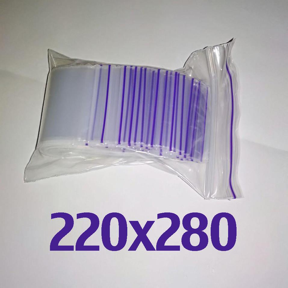 Пакет zip-lock 220*280 мм