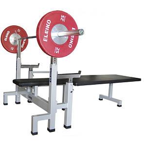 Скамья для жима для пауэрлифтинга параолимпийская Eleiko, код: 3001187-02