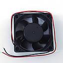 Вентилятор 12 V 60x60x25 (0.20A), фото 2