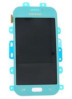 Оригинальный дисплей (модуль) +тачскрин (сенсор) Samsung Galaxy J1 Ace J110F J110G J110H J110L J110M бирюзовый