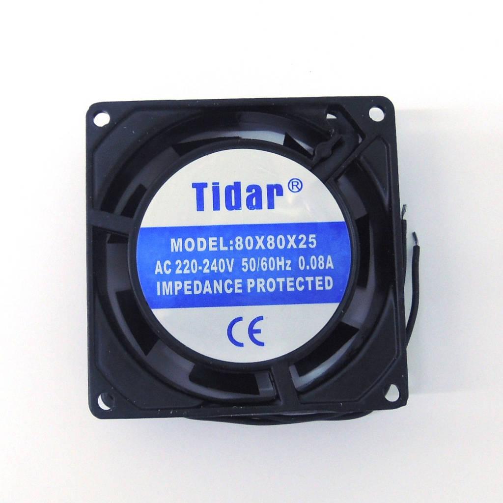 Вентилятор 220 V 80x80x25 (0.08A)