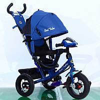 Велосипед трехколесный синий Best Trike