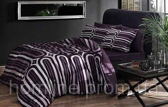 Постельное белье Pierre Cardin сатин Sabella лиловое двухспального евро размера
