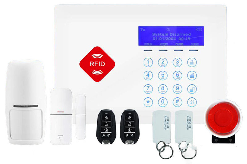 GSM сигнализация G66B + магнитный ключи