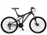 Подростковый горный велосипед Azimut CROSSER SMART 20 дюймов 2017 года черный
