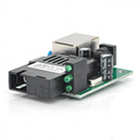Плата-медиаконвертор Merlion mini A 155М-SC-3.3V, 1310 WDM одноволоконный Full/Half duplex , SC 20km (-40+85°C), без блока питания Q40