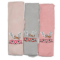 Колготки для девочек KBS  №5  4-40120 зайчик