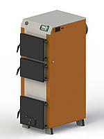Твердопаливний котел Kotlant (Котлант) КГ-40, з електронною автоматикою і турбіною, фото 1