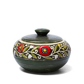 Сахарница - 450 мл, Зеленая (Manna Ceramics)