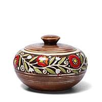 Сахарница - 450 мл, Коричневая (Manna Ceramics)
