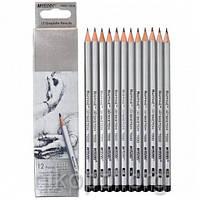"""Набор простых карандашей MARCO Raffine 7000-12CB """"3H-4B"""", твердые-мягкие"""