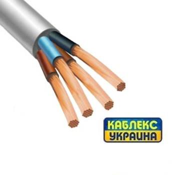 Провод медный ПВС 4х1,5 (Каблекс Одесса)