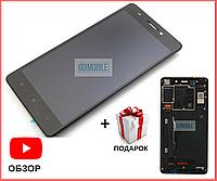 Дисплей + сенсор (модуль) Lenovo A7000 PLUS / K3 Note (K50-T3s/ K50-T5)  (1920 x1080) + рамка