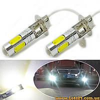 Авто-лампы H3 5 COB LED 7.5W (светодиодные лампочки для авто, лучше за галогеновые и ксеноновые)