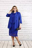 Нарядное платье с накидкой, 42-74 размер, фото 1