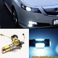 Авто-лампы H3 5 COB LED 6000K (светодиодные лампочки для авто, лучше за галогеновые и ксеноновые)