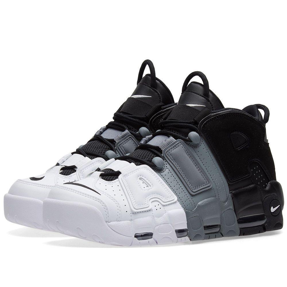 e502e555b1a9 Мужские кроссовки Nike Air More Uptempo 2018 Black White черн-белые - BBZ  Shoes