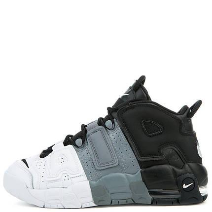 Женские кроссовки Nike Air More Uptempo 2018 Black/White черн-белые, фото 2