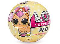 """L. O. L S3 Питомцы К Куколкам """"Домашние Животные"""" Surprise Pets Doll Ps"""