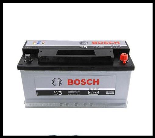Аккумулятор Bosch S3 90Ah EN720A R+ (S3013)