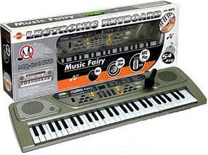 Детский синтезатор на 54 клавиши с USB-портом