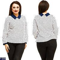 Блузка (50, 52, 54, 56) —  евро-бенгалин купить оптом и в Розницу в одессе 7км