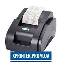 Термопринтер для печати чеков (POS принтер) Xprinter XP-58IIH USB, механическая обрезка чека (XP-58IIH)