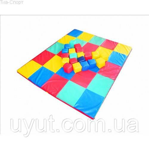 Мат-коврик Кубики 120-120-5 см