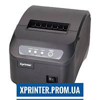 Термопринтер для печати чеков Xprinter Q200II USB+COM с автоматической обрезкой чека