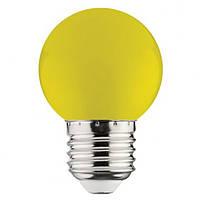 Светодиодная лампа Horoz 1W Е27 желтая
