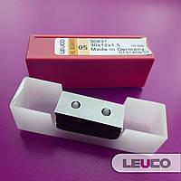 30x12x1,5 Сменные поворотные твердосплавные ножи (пластины) Leuco