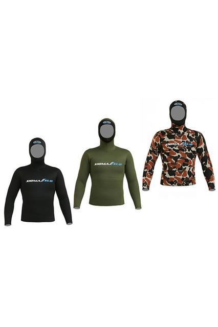 Неопренові куртки для підводного плавання