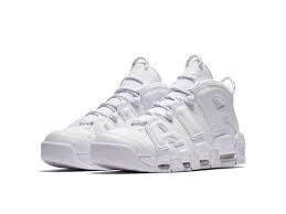 Женские кроссовки Nike Air More Uptempo 2018 White белые, фото 2