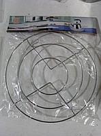 Подставка под горячее металлическая, круглая, 18 см