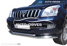 Защитный обвес для Toyota Prado 120 (п.к. ТТК)