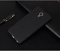 Чехол Meizu M6S 5.7'' силикон soft touch бампер черный