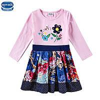 Платье для девочки Цветник