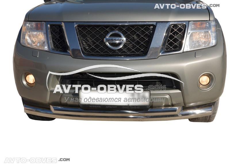 Захисна дуга подвійна для Nissan Pathfinder 2010-2014