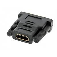 Переходник штекер DVI-D(24+1) - гнездо HDMI