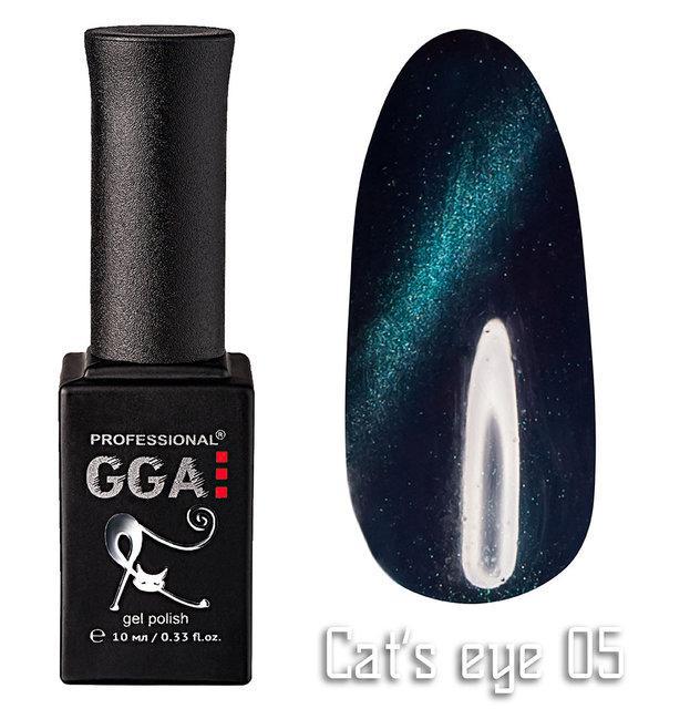 "Гель-лаки GGA Professional ""Кошачий глаз"" №05, 10ml"