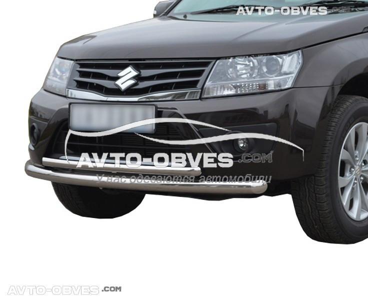 Захисна дуга подвійна для Suzuki Grand Vitara 2011 - 2019