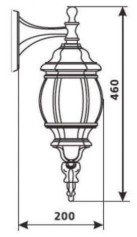 Садово-парковый светильник DeLux PALACE C02, фото 2