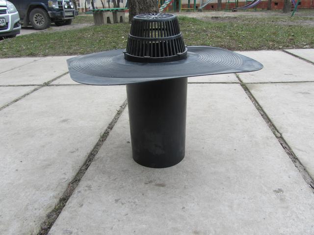 Водоотводная воронка под рубероид интернет магазин Водоотвод