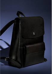 Рюкзак коричневый кожа-замш с ювелирной отделкой из серебра