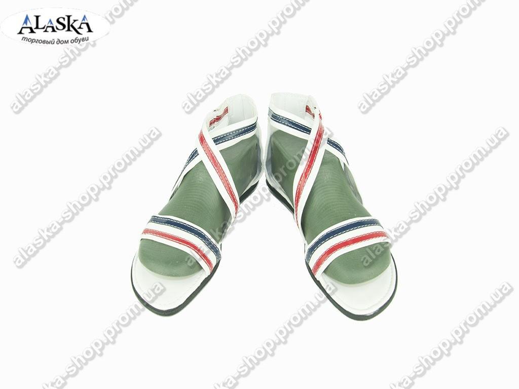 Женские сандалии ( Код: БЖ-51 белые )
