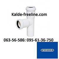 Wavin (вавин) Тройник для канализации д.32/32х90